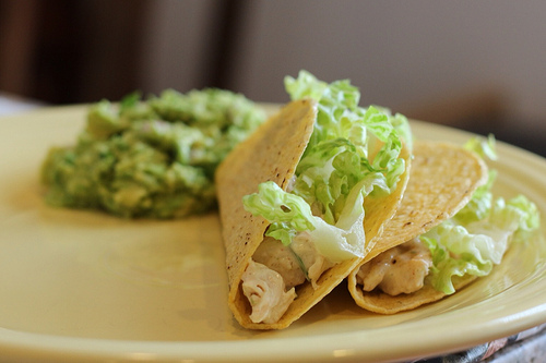 Easy Weeknight Meal: Chicken Tacos