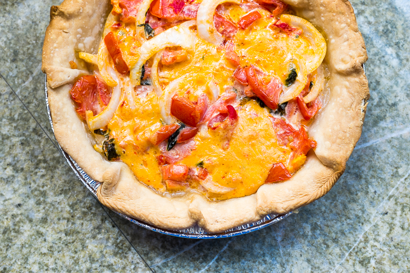 Southern Summer Dish | Easy Pimento Cheese Tomato Pie