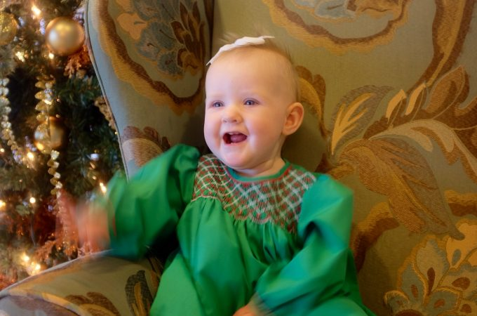 Dapper Dressers: A trick to finding smocked Christmas clothes on sale.